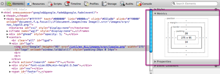 Introduction to Chrome Developer Tools, Part One - HTML5 Rocks